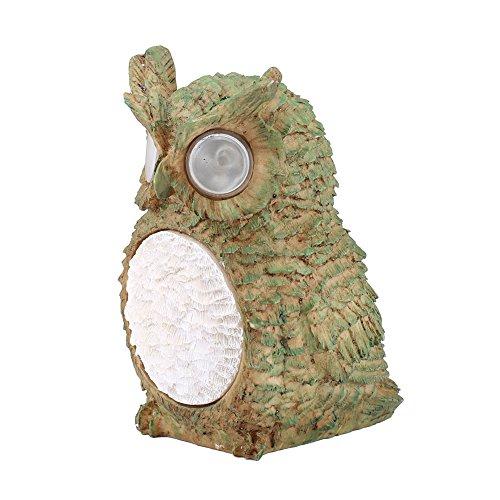 lzndeal Solar Owl Light Jardin de Jardin Extérieur Étanche Éclairage Décoratif pour Oiseaux Party Light Cadeaux Décoration Intérieure