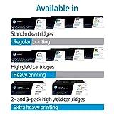 HP CF253XM 201X High Yield Original LaserJet Toner Cartridges, Cyan/Magenta/Yellow, Multipack