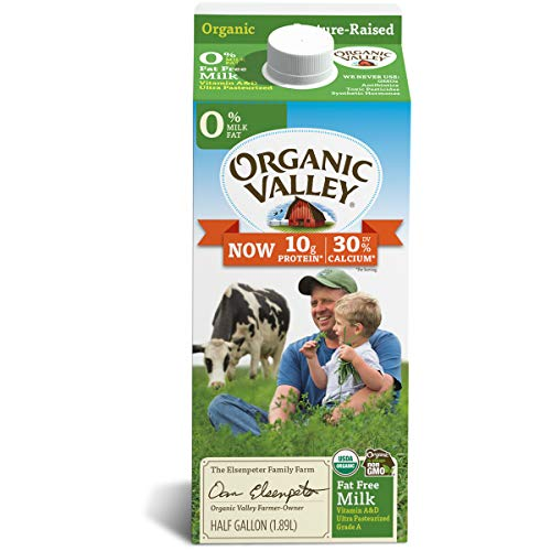 Organic Valley Ultra Pasteurized Organic Fat Free Milk