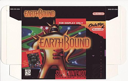 EarthBound SNES Official Nintendo 'For Display Only' Box