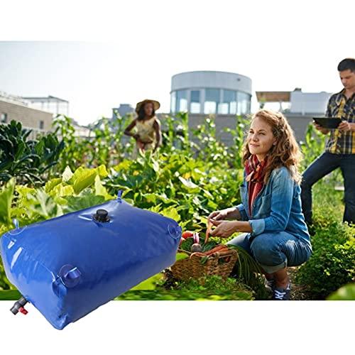GDMING Portátil Bolsa De Almacenamiento De Agua, Agricultura Regando Resistencia A La Sequía Recipientes De Agua De PVC Exterior Plegable Depósito De Agua Ahorra Espacio Ducha Solar, Personalizable