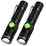 Rechargeable Flashlight,LED Tactical Flashlight Include Battery,Cree XML-T6,High Lumen,3 Modes,Water Resistant,Zoomable,Pocket Size LED Flashlight for Camping Hiking Outdoor Activity