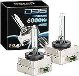 Gread - 2 D3S Xenon Brenner - 6000k 35W - passgenau und lange Lebensdauer white