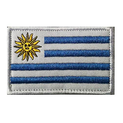 Uruguay Flag Patch Embroidered Military Tactical Morale Patches (Uruguay)