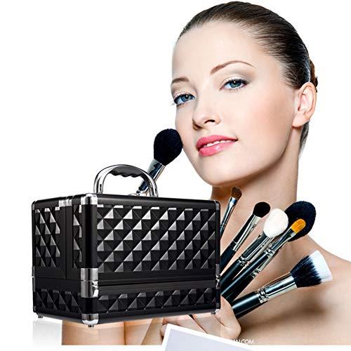 HZXLL Vanity cases, make-uphoezen, nail art koffer juwelen stand nagellak voor nail design, make-up organizer, opvouwbaar (25,5 * 15 * 18,5 cm)