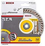 Bosch Disco de corte de diamante estándar, tipo Universal:125 mm.