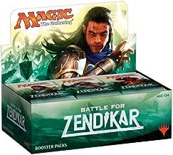 Magic the Gathering (MTG) Battle for Zendikar Booster Box Display (36 packs)