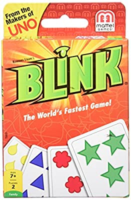Mattel Games Blink Card Game The World's Fastest Game by Mattel Games