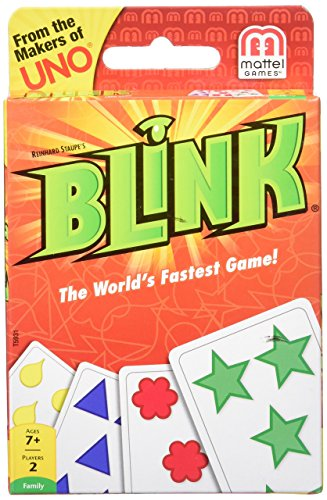 Mattel Games Blink Card Game The World's...