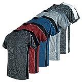 Mens T-Shirts, Dry Fit Tshirts for Men, Mens Clothing, Dri Fit T Shirts 5 Pack