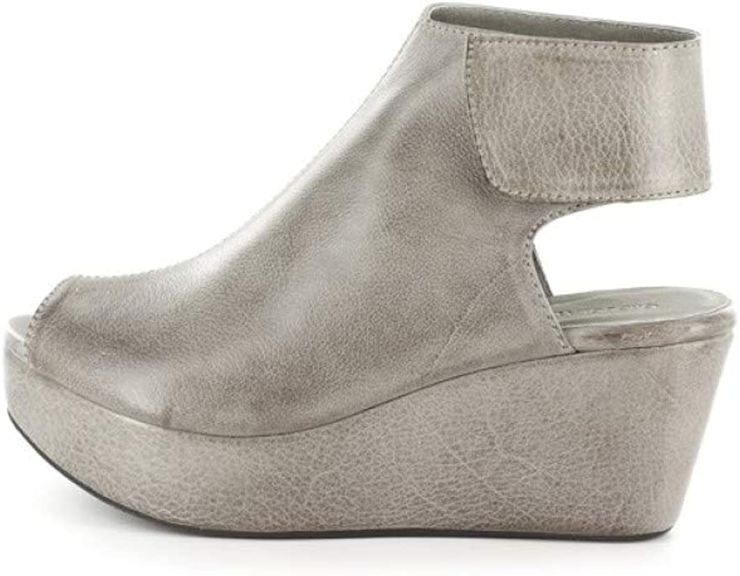 Chocolat Blu White Wedge - Platform Sandal - Women's Suede/Leather Shoes