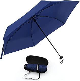 Yoobure Small Mini Umbrella with Case Light Compact Design Perfect for Travel