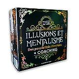 MAGIC SECRET - Coffret Magie Adulte - Mentalisme et Illusions - +35 Tours de Magie Professionnels - à partir de 9 Ans - 60 Vidéos Explicatives (App iOS & Android) + 5 Accessoires + Coaching