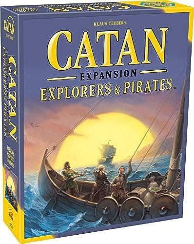 alta calidad y envío rápido Mayfair Mayfair Mayfair Games Catan Expansion Explorers and Pirates Board Game  descuento de ventas