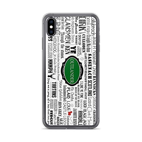 Kabry Compatible for iPhone 6/6s Case Outlander, (Green) Pure Clear Phone Cases Fall Protection Cover