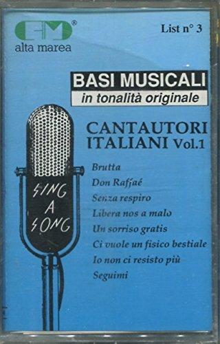 Cantautori italiani Vol. 1 - Basi Musicali in tonalità originale