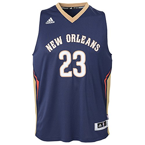 Outerstuff Youth Boys NBA Player Swingman Jersey-Road New Orleans Pelicans-Anthony Davis, Youth Small (6-8)