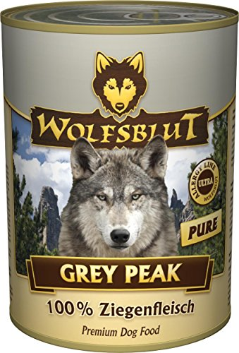 Wolfsblut | Grey Peak | 12 x 395 g | Ziege | Nassfutter | Hundefutter | Getreidefrei