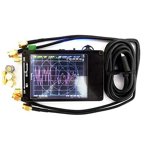 BDSEALY 50KHz-900MHz golfantenne met digitaal touchscreen voor Vettoriale MF HF VHF Uhf antenne voor voetanalyse Zwart