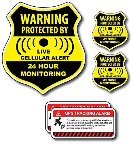 auto alarm stickers - 6