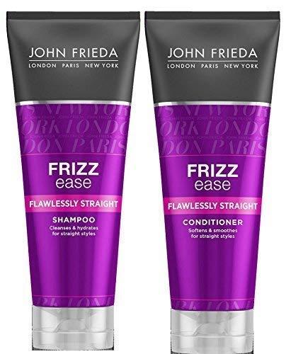 John Frieda Frizz Ease Flawlessly Straight Shampoo & Conditioner 250ml Each