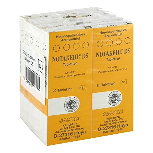 NOTAKEHL D 5 Tabletten 10X20 St