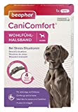 beaphar CaniComfort Wohlfühl-Halsband für Hunde, Beruhigungsmittel für Hunde mit Pheromonen, Bei...