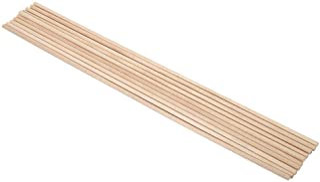 Hardhout Sticks 10 stks 30 cm Lange DIY Houten Arts Craft Sticks Deuvels Pole Rods Zoete Bomen Hout Tool 5 Maten(4MM*30CM)