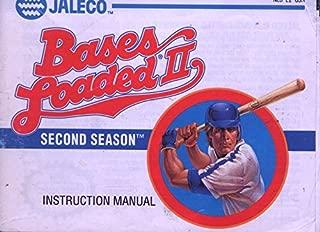 NES Bases Loaded II Second Season Instruction Manual