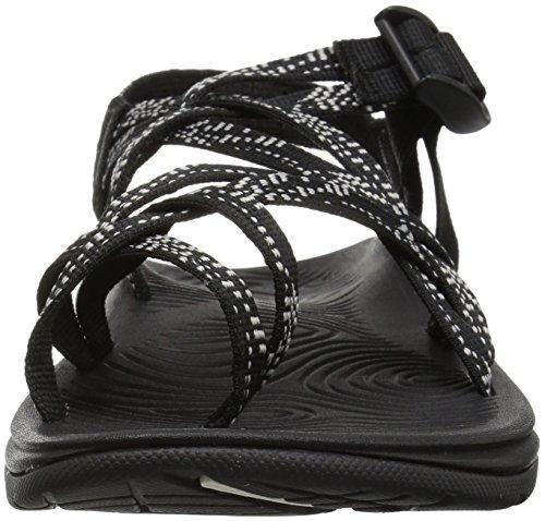 Chaco Women's Zvolv X2 Sandal, Dash Black, 8