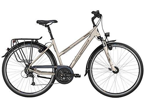 Bergamont Horizon 6.0 Damen Trekking Fahrrad creme weiß/grau/gold 2016: Größe: 48cm (165-170cm)
