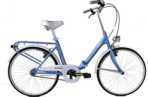 Biciclette 24' con portapacchi 1 Velocita - Modello Graziella