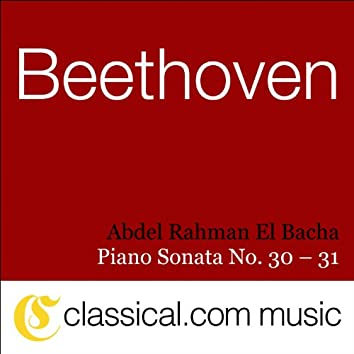 Ludwig van Beethoven, Piano Sonata No. 30 In E, Op. 109