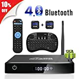 Android TV Box, ABOX A1 MAX Android 7.1 Smart TV Box de 2GB RAM+16GB...