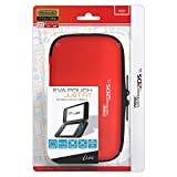 i-Lex new2DS XL Officially Licensed by Nintendo Slim Hard Pouch -Red-