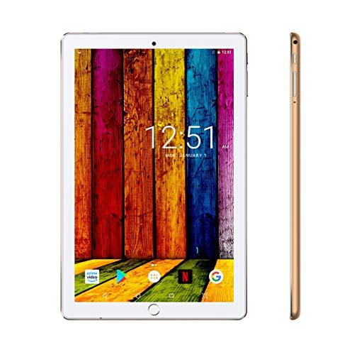 tablet 10.1 Tablet 10.1 Pollici 4G LTE/WiFi Android 9.0 offerte 32 GB Espandibili 3 GB RAM con Quad-Core Dual SIM e Doppia Fotocamera Bluetooth
