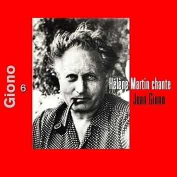 Hélène Martin chante Jean Giono