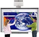 """Classroom Interactive whiteboard and Projector for Interactive Presentation (Smart UF70W Projector and SB680 (77"""" Smart Board))"""