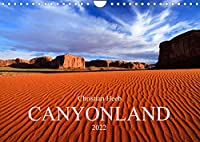 CANYONLAND USA Christian Heeb / UK Version (Wall Calendar 2022 DIN A4 Landscape): Four Corners Area (Monthly calendar, 14 pages )