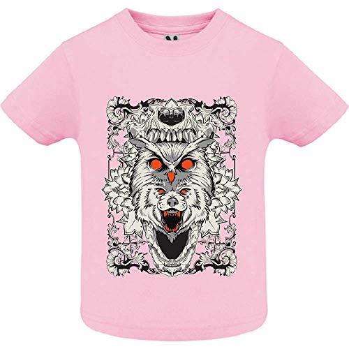 T-Shirt - Animal Mix - Bébé Fille - Rose - 12mois