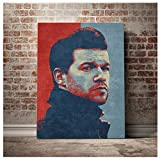 Lomoko Michael Ballack Foto Porträt Wandkunst Poster Bild