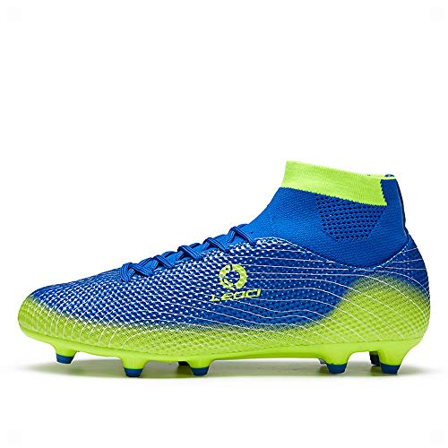 LEOCI Performance Men's Soccer Shoe Outdoor Soccer Cleat (4...