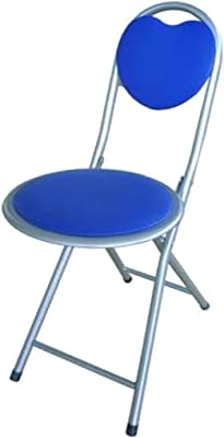 765030 Taburete plegable CUORE DOLLY SILVERLINE en varios colores 75 x 30 cm - Azul