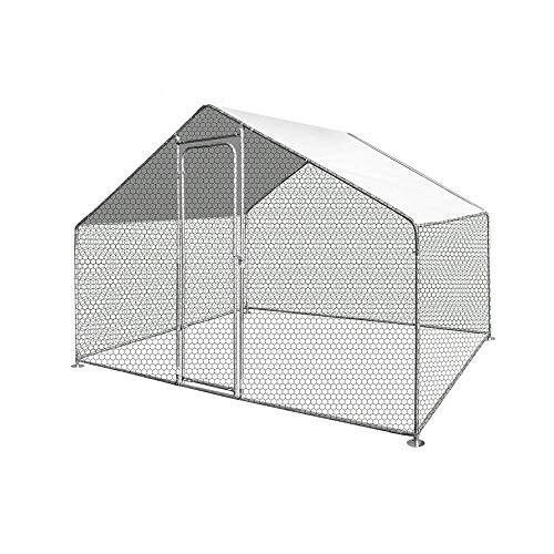 TERRE JARDIN Enclos poulailler/Volière extérieur 6 m2