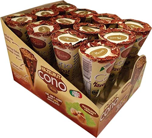 Messori Cono Snack Chocolate Hazelnut Cream, 0.9 oz