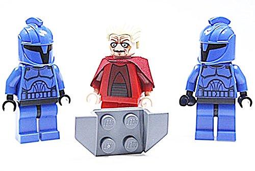LEGO Star Wars 3 Figuren - Kanzler Palpatine & 2 Senato Commando`s genau wie abgebildet