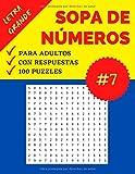 Sopa de Números Adultos: Parte 7   Sopa de Cifras recomendable para Personas...