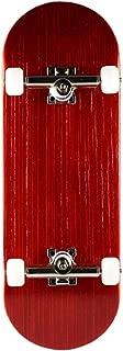 NOAHWOOD X Fingerbird PRO 6-Layer Bamboo Handmade Fingerboards (King of Skate Red, 100x33mm Deck Trucks Wheels / Set)