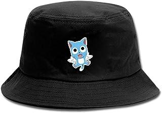 Anime Fairy Tail Sombrero Pescador Unisex Aire Libre Sombrero de ala Ancha Borde Redondo para Excursionismo Cámping De Viaje Pescar