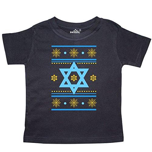 inktastic Hanukkah Ugly Sweater Toddler T-Shirt 7 Black 2d89e